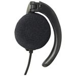 Professional Mono Earpiece with Large Clip and 3.5mm Jack Plug