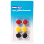 Coloured Replacement Earphone Pads x 3 Pairs