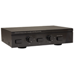 E-Audio 2 Way Speaker Selector with Volume Control and Impedance Protection