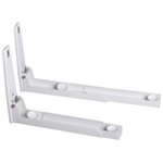 White Microwave brackets with Extendable Arms - Medium
