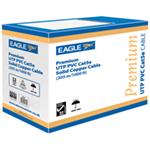 Eagle Premium UTP PVC Solid Copper Network Cable (Cat5e)