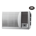 Prem-I-Air 9000 BTU DC Inverter Window Air Conditioner with Remote Control & Timer