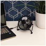 """Prem-i-Air 4"""""""" Mini USB Desk Fan"""