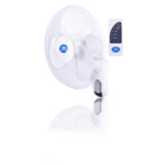 """Prem-I-Air 16"""""""" (40 cm) Wall Fan with Remote Control and Timer"""
