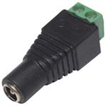 CCTV Camera 2.1mm DC Line socket With Screw Terminals