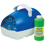 Party Time Battery Operated Bubble Machine in Blue