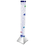 Cheetah 1m LED Colour Changing Bubble Column With Artificial Fish