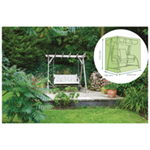 St Helens Home and Garden Water Resistant 2 Seater Swing Bench Cover