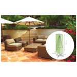 St Helens Home and Garden Water Resistant Jumbo Parasol Cover