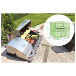 St Helens Home and Garden Water Resistant Wagon BBQ Cover