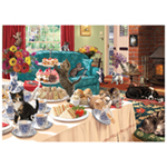 St Helens Home and Garden 1000 Piece Jigsaw Puzzle - The Cat That Got The Cream