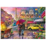 St Helens Home and Garden 1000 Piece Jigsaw Puzzle - One Rainy Night in Paris