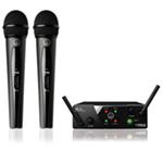 AKG WMS40 Mini2 Dual Wireless microphone system 864.735 / 864.85 MHz