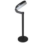 Luxform Lighting Montana Solar Post Light in Black