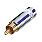 REAN NYS352 Metal Phono Plug With Gold Plated Terminals
