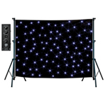 NJD Stand Mounting Star Cloth Kit (3 x 2 m) Black