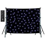 NJD LED Star Cloth Kit (6 x 6 m) Black