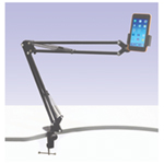 Telescopic Mobile/iPad Stand With G Clamp Mount