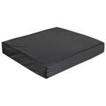 Vinyl Wheelchair Cushion with Memory Foam